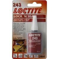 LOCTITE 243 24ml fijador de tuercas resistencia media (12 unidades)