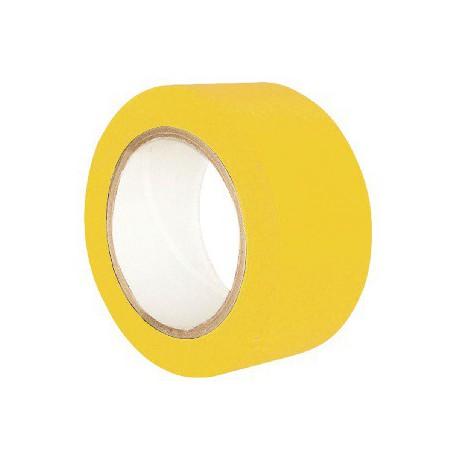 Cinta señalizacion adhesiva amarilla 100mmx33m SOLBI