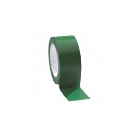 Cinta señalizacion adhesiva verde 50mmx33m SOLBI