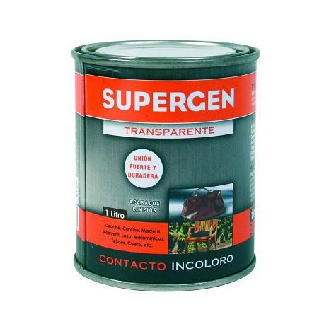 Adhesivo de contacto 1l incoloro SUPERGEN