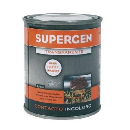 Adhesivo de contacto envase 250ml incoloro SUPERGEN