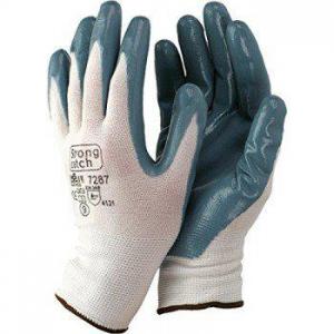 Guante 7287 t09 nylon/nitrilo gris STARTER