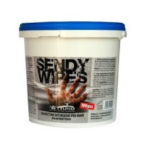 Toallita limpiadora sendy-wipes bote (100 uds) NETTUNO