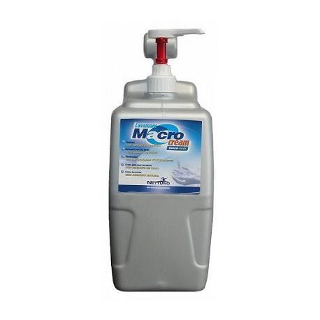 Lavamanos crema macrocream t-box 5000ml con dispensador (4 unidades) NETTUNO