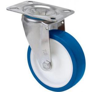Rueda giratoria 2-2980 100ømm 130kg poliuretano inox ALEX
