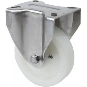 Rueda fija 2-3080 80Ømm 100kg poliamix inox ALEX