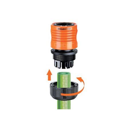 """Conector automatico aqua-stop 1/2"""" blister CLABER"""