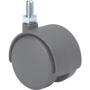 Rueda giratoria 1-0489 50ømm 50kg polipropileno ALEX