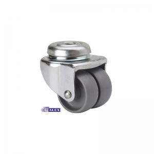 Rueda giratoria 3-0014 40ø 40kg polipropileno ALEX