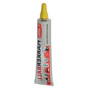 MARKER BALL amarillo 50ml marcador de pintura permamente CRC