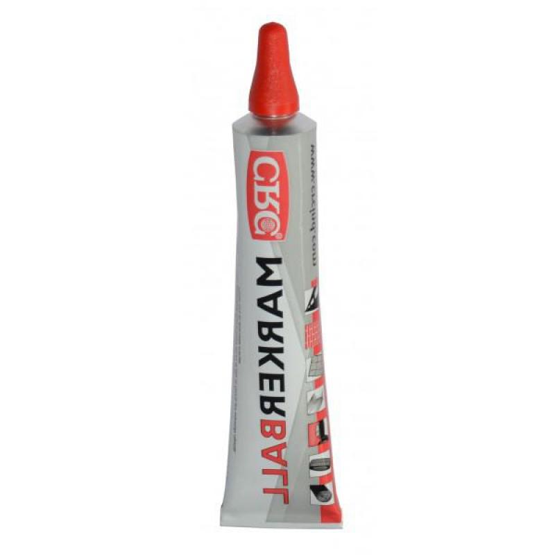 Marcador marker ball rojo tubo 50ml crc ferreter a for Tubo corrugado rojo precio