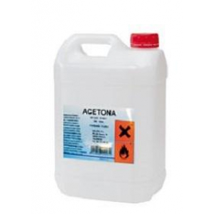 Acetona 100% pura envase 5 litros