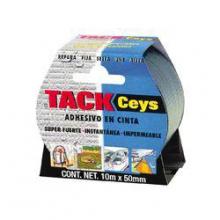 Tackceys brico cinta 10mtrs plata CEYS