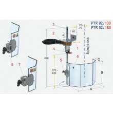 Protector seguridad taladro univ ptr 02/180 ASLAK