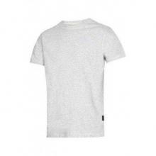Camiseta clasica ceniza t- m SNICKERS