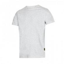 Camiseta clasica gris acero t- l SNICKERS