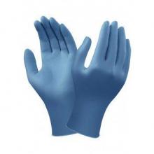 Guante desechable 92-465 t07 caja/100 nitrilo azul ANSELL