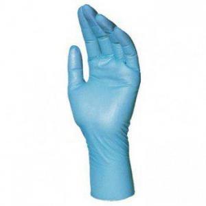 Guante desechable 967 T07(M) caja/100 nitrilo azul PROLIMAX