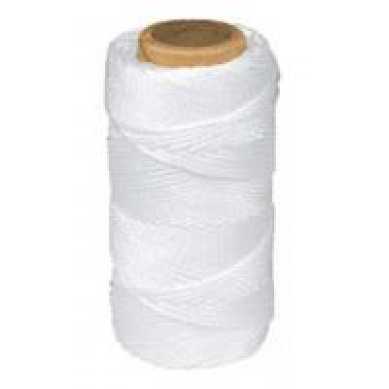 Cuerda hilo atirantar blanca nylon rollo 100 m - Cuerda de nylon ...