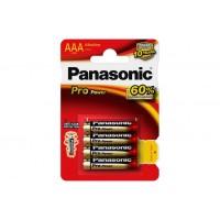 Pila alcalina 1.5v LR03 pro power blist.4uds PANASONIC