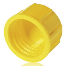 Tapon rosca gpn800 m10x1 pe-hd amarillo  POPPELMANN