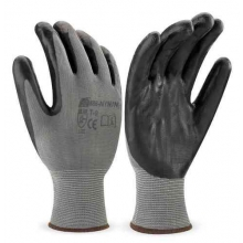 Guante 688-nyn t10 poliester nitrilo gris MARCA