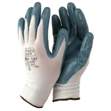 Guante 7287 t10 nylon/nitrilo gris STARTER