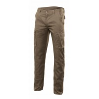 PANTALON STRETCH MULTIBOLSILLOS 103005S-46 BEIGE