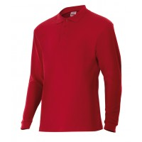POLO MANGA LARGA 105503-12 ROJO