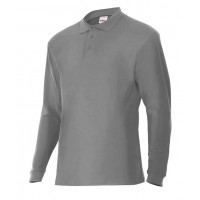 POLO MANGA LARGA 105503-8 GRIS