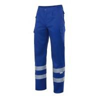 Pantalon multibolsillos 159-9 azulina VELILLA
