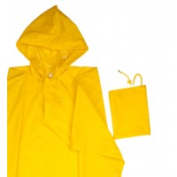 Poncho lluvia con capucha 187-17 amarillo t-u VELILLA