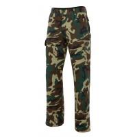 Pantalon de camuflaje 360-33 verde camuflaje VELILLA