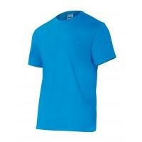 Camiseta manga corta 5010-27 turquesa VELILLA
