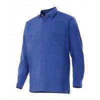 Camisa manga larga 520-9 azulina VELILLA