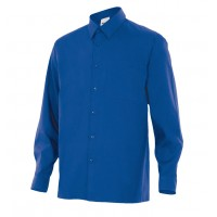 Camisa manga larga 529-9 azulina VELILLA