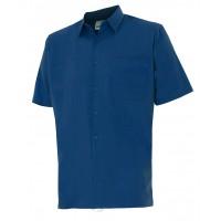Camisa manga corta 531-1 azul marino VELILLA