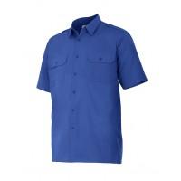 Camisa manga corta 532-9 azulina VELILLA