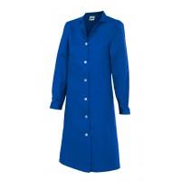 Bata mujer manga larga 908-9 azulina