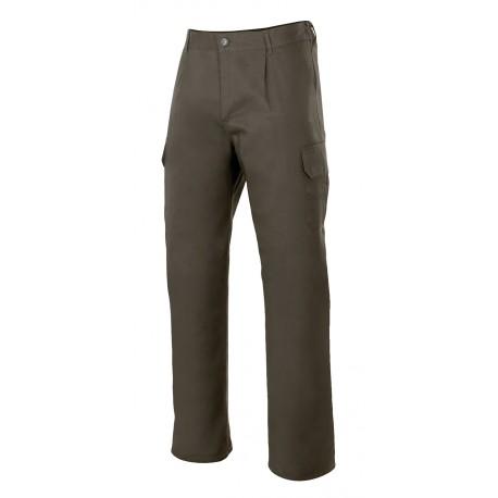 Pantalon multibolsillos 345-3 verde caza