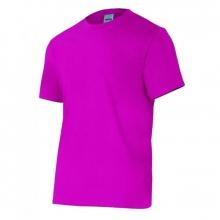 Camiseta manga corta 5010-26 morada VELILLA