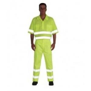 Camisa alta visibilidad 3004af m/corta t46 amarilla VESIN