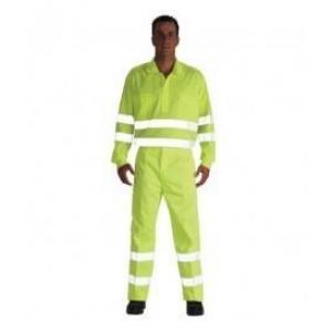 Camisa alta visibilidad 3005af m/larga t42 amarilla VESIN