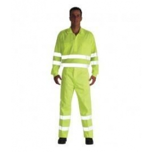 Camisa alta visibilidad 3005af m/larga t48 amarilla VESIN