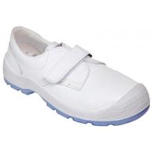 Zapato diamante velcro totale S2 blanco PANTER