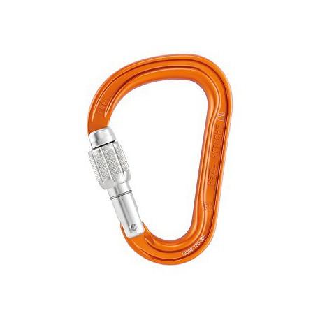 Mosqueton attache screw lock m38a sl PETZL