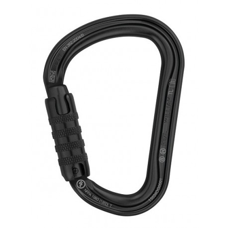Mosqueton william triactlock negro m36atln PETZL