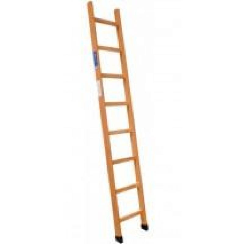 Escalera madera 1 tramo 12 pelda os e 12 altura 3 50 m for Escalera de jardin de madera