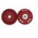 Plato soporte discos fibra 178mm rojo blando 3M