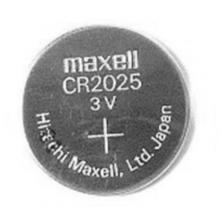 Pila boton cr2025 litio 3v